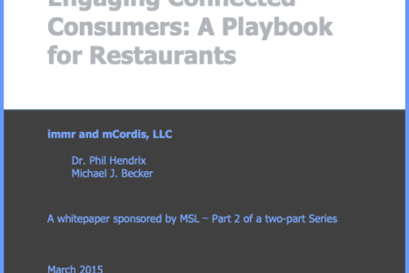 Engaging Connected Consumers: A Playbook for Restaurants
