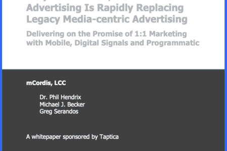 Why Data-driven, Customer-centric Advertising Is Rapidly Replacing Legacy Media centric Advertising