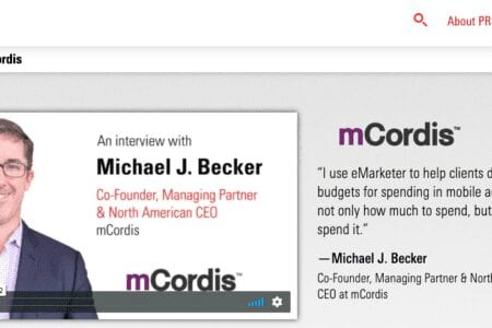 eMarketer Client Interview with Michael Becker