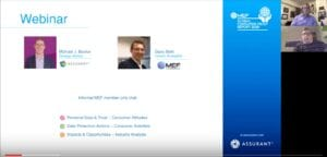 Webinar: Becker & Betti discuss insights from the  MEF 5th Annual Global Consumer Trust Report 2018
