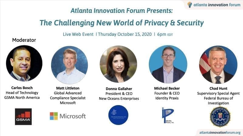 Atlanta Innovation Forum October 15, 2020