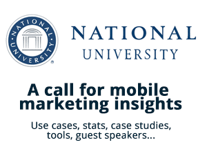 A call for mobile marketing insights.